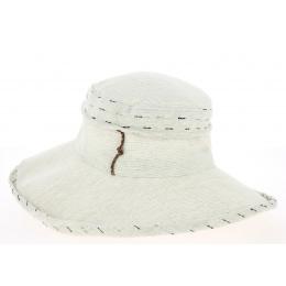 Hat Woman Bronze Linen Beige - Mtm