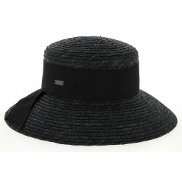 Riviera Riviera Natural Straw Hat Black - Betmar