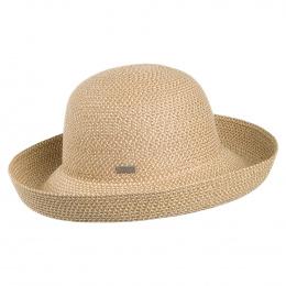 Women's Classic Roll Up Natural Hat - Betmar