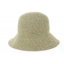 Gossamer Natural & Desert Gossamer Straw Bell Hat - Betmar