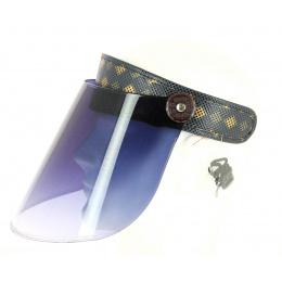 Anti-UPF 50+ PVC Face Protector Visor - Fancy - Traclet