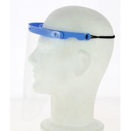 Visière Plastique de Protection Bleue- Traclet