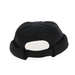 Wool Docker Hat Black- Traclet