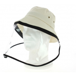 Bob Visor Plastic Protection Beige - Traclet