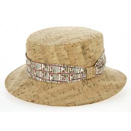 Chapeau Woman Paule Natural Cork - Crambes