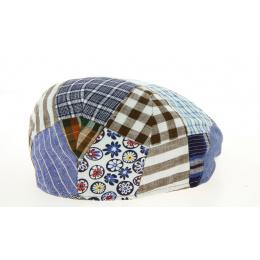 Cap Plate Amos Patchwork Cotton & Linen Patchwork Cotton & Linen - Traclet