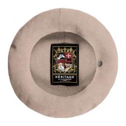 Béret Authentique Été Coton Greige- Héritage par Laulhère