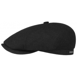 Brooklin Casper Cap Wool, Cotton & Black Cashmere - Stetson