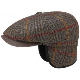 Hatteras Cap Hatteras Wool Earmuffs Tiles- Stetson