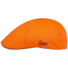 Texas Signal Orange Neon Cap & Kaki- Stetson
