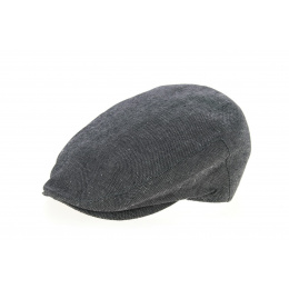 Piedmont Piedmont Cap in Anthracite Linen & Cotton- Traclet