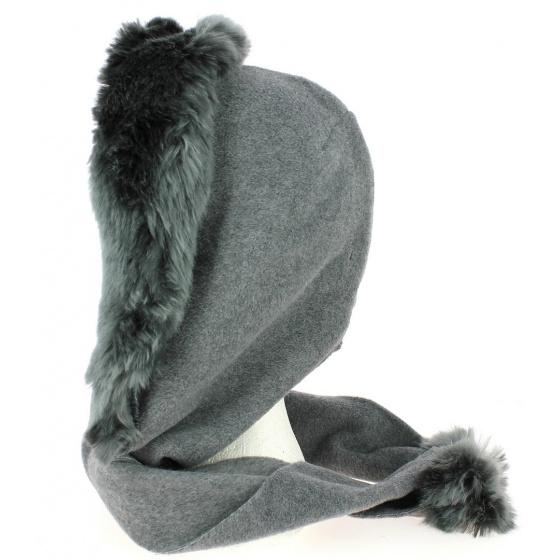 Norell Fleece Hood Grey