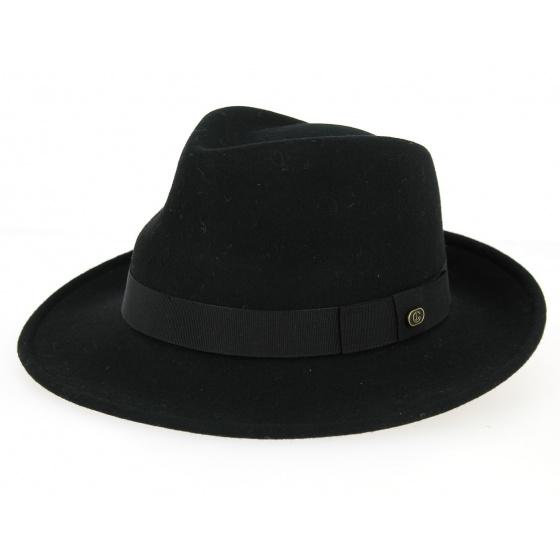 Chapeau feutre Blues Brothers large bord