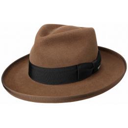 Chapeau Amish Feutre Poil Marron- Stetson