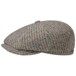 Hatteras Hatteras Virgin Wool Herringbone Cap -stetson
