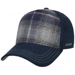 Trucker Cap Wool Navy Blue - Stetson