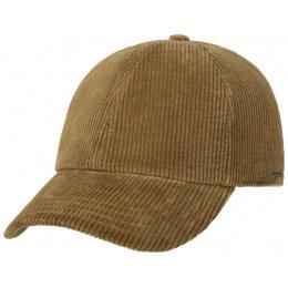 Brown Corduroy Baseball Cap - Stetson