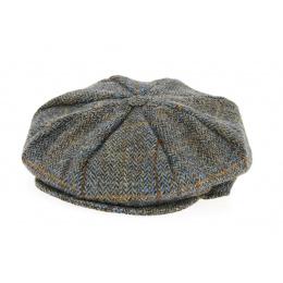 Casquette Irlandaise Bray à Carreaux Marron- Hanna Hats