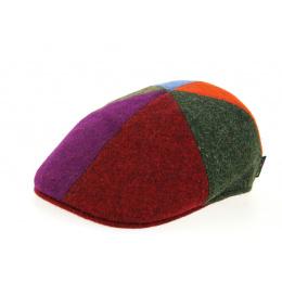 patchwork cap with duck beak
