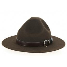 Chapeau scout feutre poil