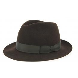 Borsalino Hat Vanzina Brown Hair Felt