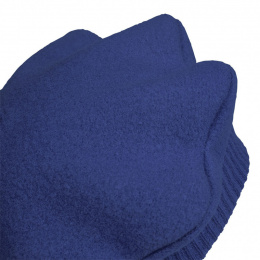 Polisson Child Beret Wool Merino Blue Night - Heritage by Laulhère