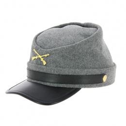 casquette sudiste grise