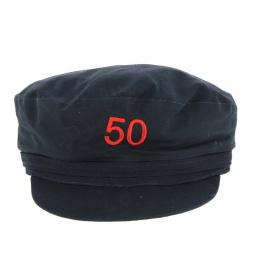 Casquette marin brodée 50 ans