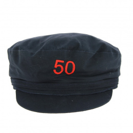 Embroidered sailor's cap 50 years