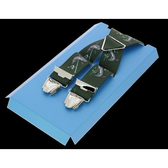 Bretelles Pêche Vert - Traclet