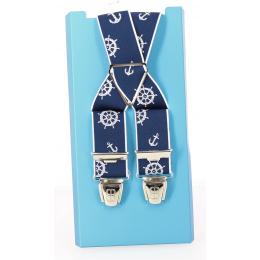 Bretelles Marin bleu - Traclet