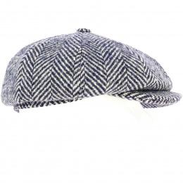 Casquette hatteras Hereford chevron Bleu - ALFONSO D'ESTE