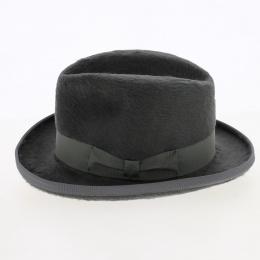 chapeau gris homburg mitterand