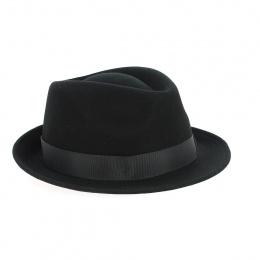 Chapeau Laine et cachemire noir