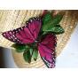 Canotier Vol Joli Papillon / Created by Les Ateliers de la Chapellerie TRACLET in France