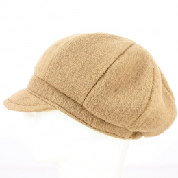 Casquette Gavroche Carla Laine Camel - Traclet