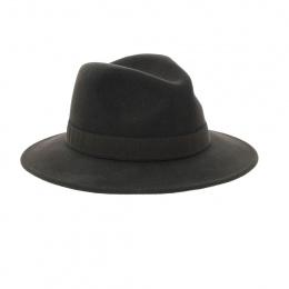 Chapeau feutre laine traveller marron