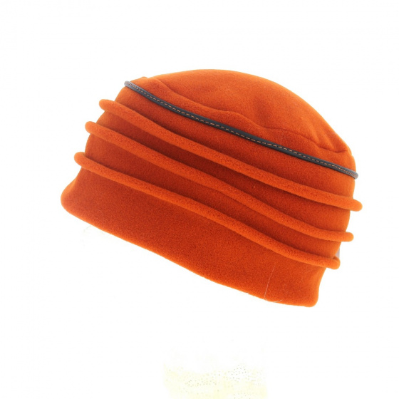 Toque polaire orange -Traclet