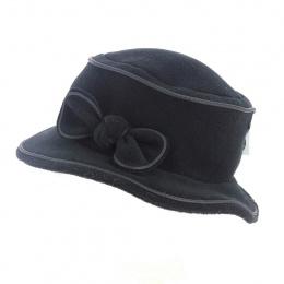 Chapeau Bob polaire noir - Traclet
