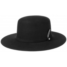 Amish hat Black wool felt felt - Stetson