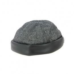 Bonnet cooper  revers noir