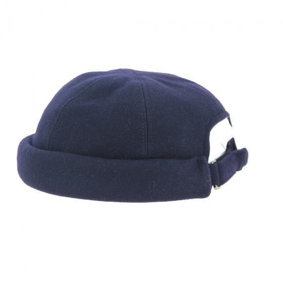 Bonnet cooper hiver Laine Marine - Traclet