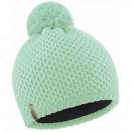 Bonnet Pompon Uni vert d'eau - LeDrapo