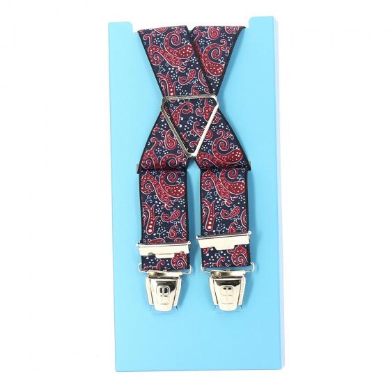 Fancy bandana strap - navy blue