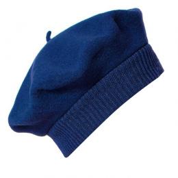 Beret Parisienne Bleu Nuit - Héritage par Laulhère