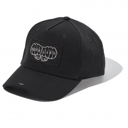 Black full Cotton Cap with EQUALITY badge