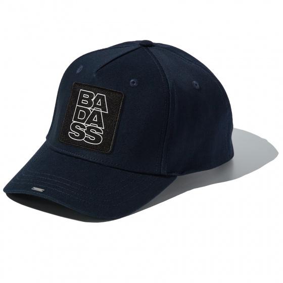Casquette Blue Full Cotton cap with BADASS badge