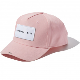 Baby Pink Full Cotton HOPELESS LOVER badge