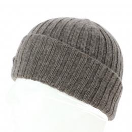 Bonnet Cachemire Taupe - TRACLET