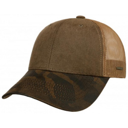 Casquette Trucker Connecting Camouflage - Stetson